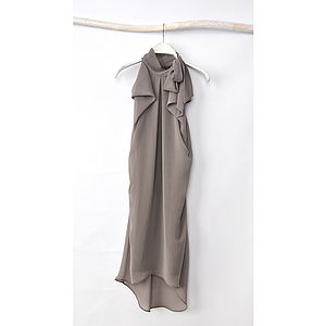 Monica Chiffon Dress - contemporary women's fashion