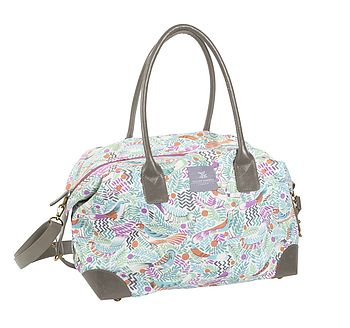 Tropical Birds Weekend Bag