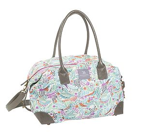 Tropical Birds Weekend Bag - bags & purses