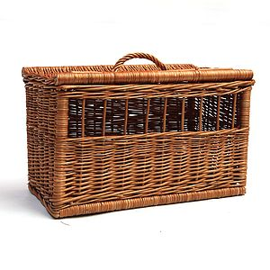 Wicker Pet Carrier - dogs