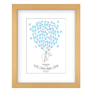 Polar Bear Fingerprint Artwork - guest books