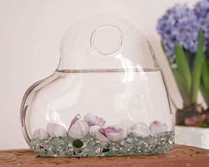 Heart Shaped Terrarium