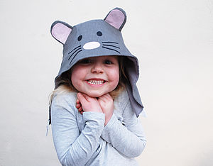 Mouse Character Hat - babies & children