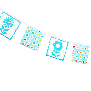 Retro Flowers Garland Kit - shop by price