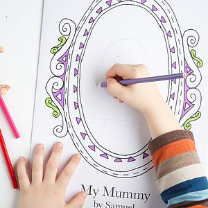 Personalised 'Mummy' Frame Card - last-minute cards & wrap