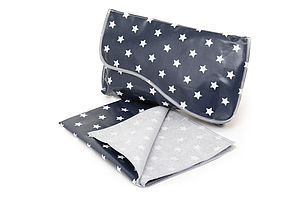 Oilcloth Mini Changing Bag And Mini Mat - baby & child sale