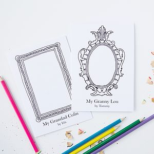 Personalised 'Grandparent' Frame Card - mother's day cards