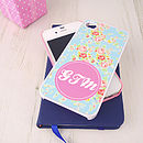 Personalised Shabby Chic Case For IPhone/IPod