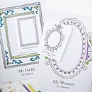 Personalised 'Grandparent' Frame Card