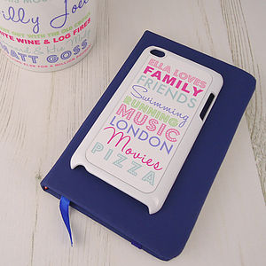 Personalised iPod Loves Case - women's accessories
