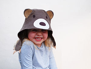 Bear Dress Up Hat For Children