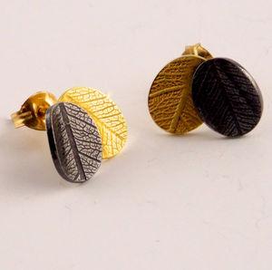 Overlap Earring Studs - earrings