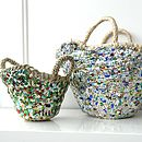 Mini Beldi Sequin Basket