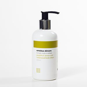 Grapefruit Lemon And Cedarwood Body Lotion