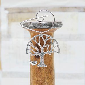 Swirl Brooch With The Tree Of Life - pins & brooches