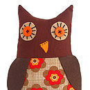 Make A Little Owl Sewing Kit