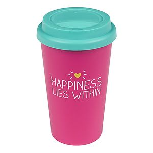Happiness Travel Mug - shop by price