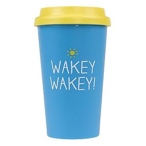Wakey Wakey Travel Mug - mugs