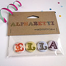 Alphabet Name Badges