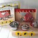 Fun Wooden Cooker Set