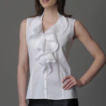 Claudia Shirt White