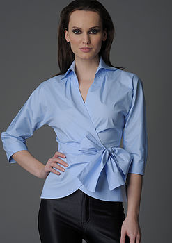 Abigail Blue Shirt