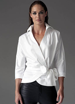 Abigail White Shirt