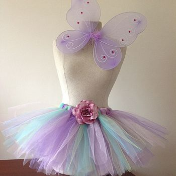 Wild Flower Fairy Tutu And Wings