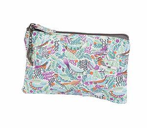 Tropical Birds Zip Purse - purses & wallets