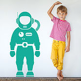 Astronaut Space Man Wall Sticker - home