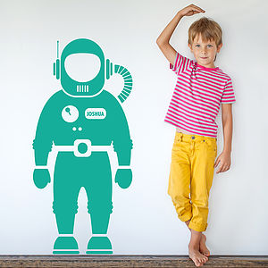 Astronaut Space Man Wall Sticker - bedroom