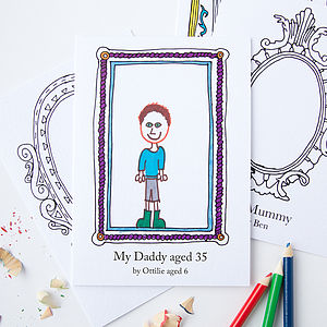 Personalised 'Birthday' Frame Card - posters & prints