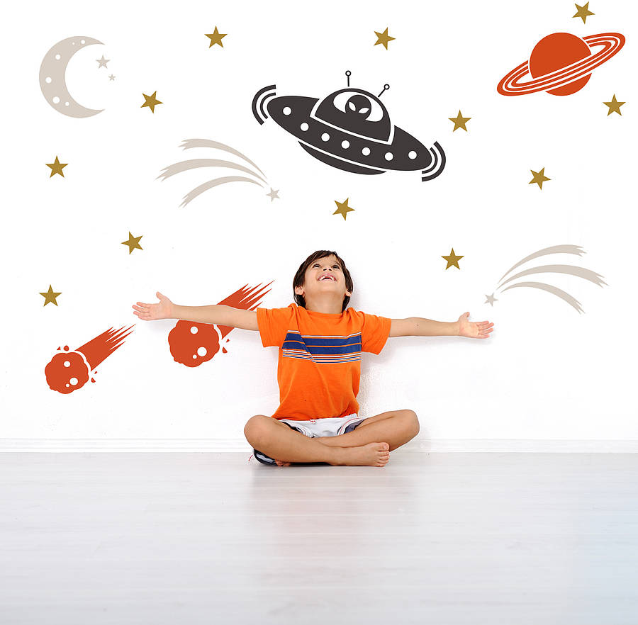 space wall stickers astronomy and space themed wall stickers