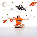 Astronomy And Space Themed Wall Stickers