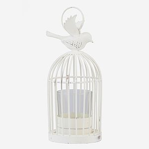 Vintage Style Bird Cage Tea Light Holder - votives & tea light holders