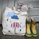 Childrens Welly Bag Kit Personalised