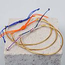 Gold Bracelets Luna, Assorted Colours
