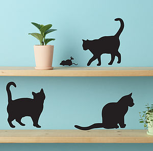 Cute Cat Wall Stickers - wall stickers