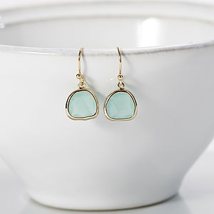 Little Dew Drop Earrings - wedding earrings