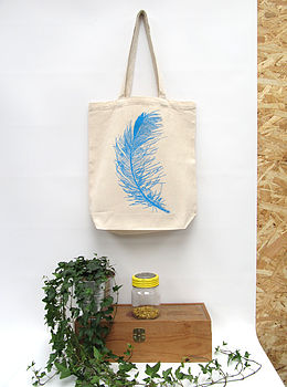 Feather Eco Tote Bag