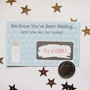Baby Reveal Scratchcard