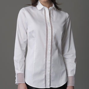 Beatrice White Shirt - blouses & shirts