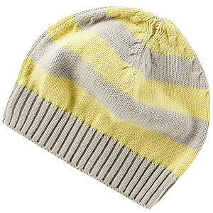 Busy Bee Stripe Beanie Hat - babies' hats