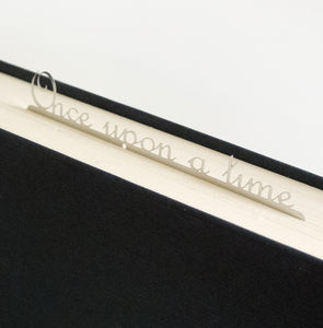 'Once Upon A Time' Bookmark - book-lover