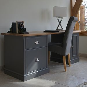Baslow Filing Desk Available In Choice Of Colours