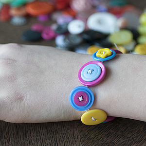 Button Bracelet Kit - jewellery-making kits & experiences