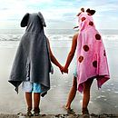 Jilly The Giraffe Hooded Towel