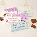 Thumb 6 x personalised chocolate bars