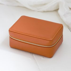 Leather Jewellery Case For Travel - frequent traveller