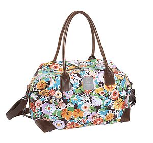 Flower Patch Weekend Bag - women's accessories